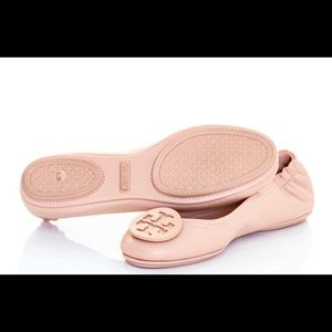 Tory Burch Minnie Travel Ballet Flats Goan Sand